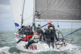 Howth J109 Storm is a 2017 Scottish Series winner, a regatta that is part of the GBR IRC Championships programme