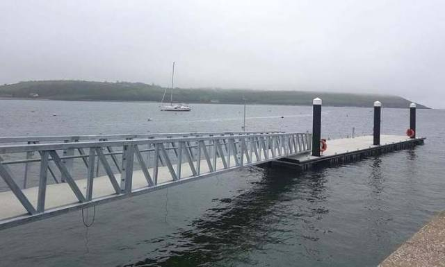 Youghal Pontoon and access ramp