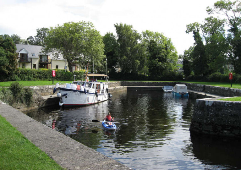 Dromod Harbour in Co Leitrim