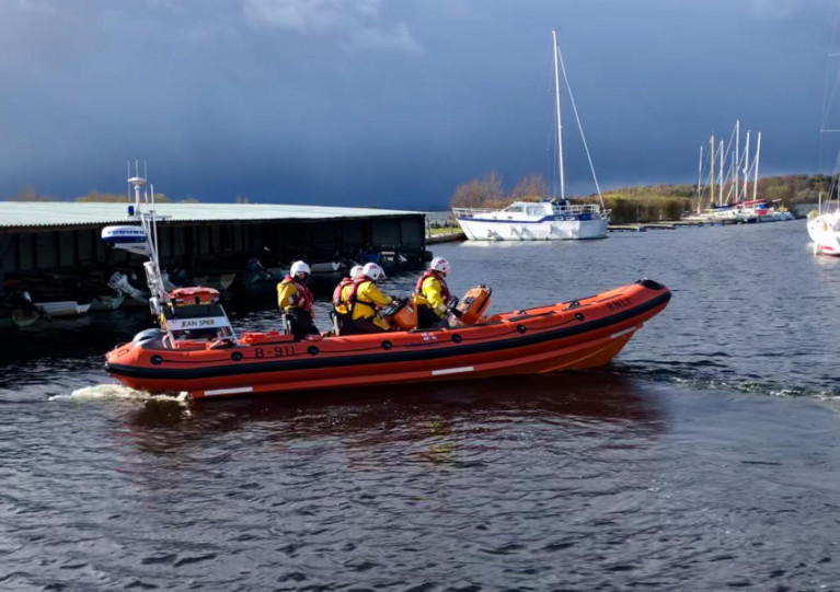 Lough Derg RNLI's inshore lifeboat Jean Spicer