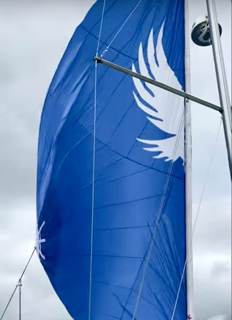 UK Sailmakers Ireland Show off Simple to Use 'Code D' Gennaker Sail (Video)