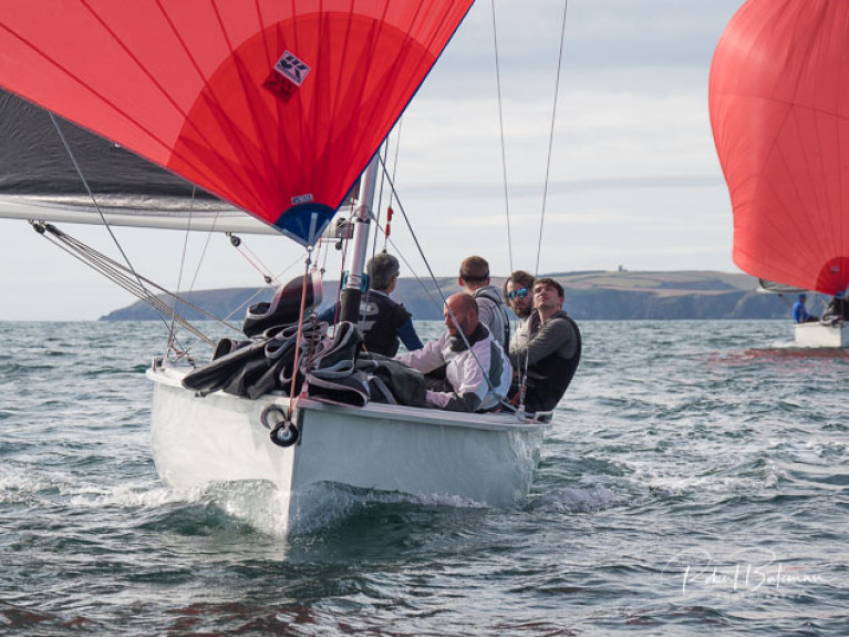 Baltimore O'Leary Brothers Win 1720 Munster Championships in Cork Harbour