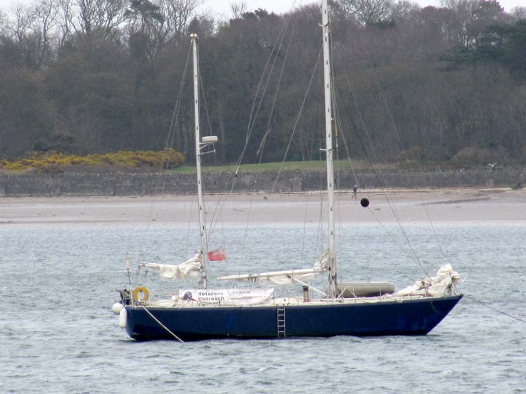 Aries in Ballyholme Bay