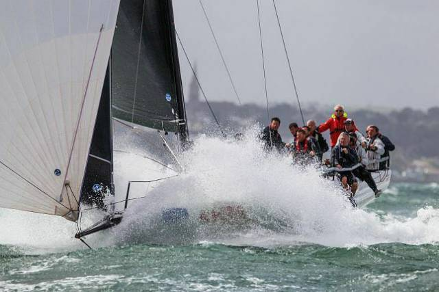 Tschüss skipped past Triple Crown winners Lady Mariposa on corrected time in the final race of the IRC Zero series