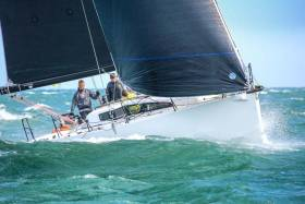 Rockabill VI (Paul O'Higgins) from the Royal Irish Yacht Club was the winner of DBSC's Cruiser 0 IRC division