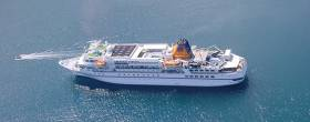German cruise ship, the Bremen, will anchor just off Bere Island and 100 German passengers plus crew will zip ashore on some of the ship's 12 onboard Zodiacs