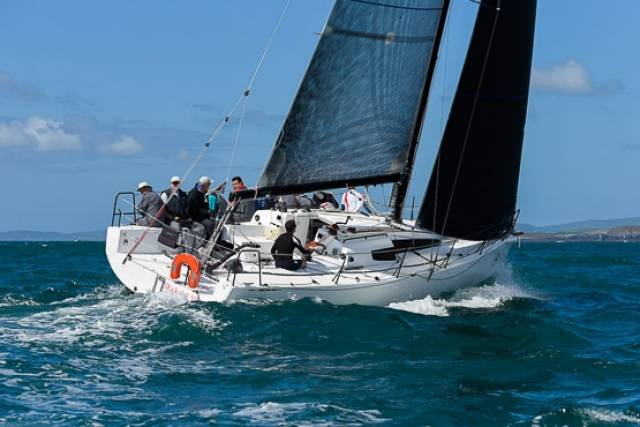 In class 1, Paul O Higgins' new JPK 10.80 Rockabill with Mark Mansfield on the helm, continues to dominate the class with three wins in IRC