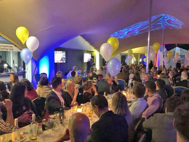 The 50th anniversary banquet in full swing on Saturday 16 June
