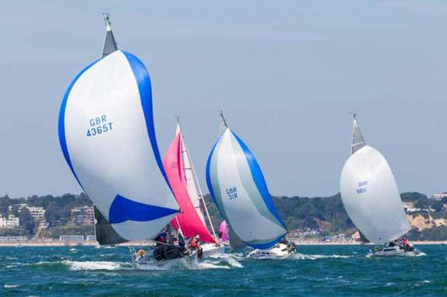 Sigma 33s racing at Poole Regatta