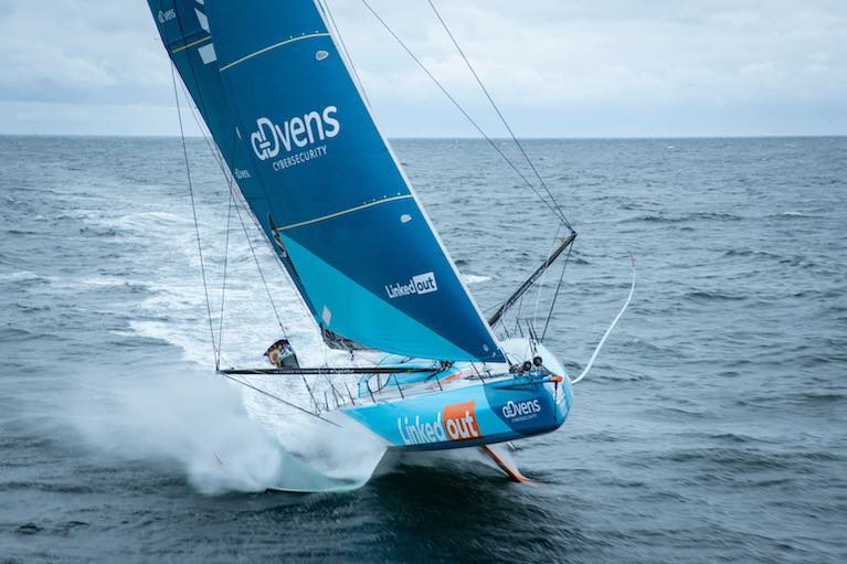Vendee Globe S Linkedout Is Doing The Business Afloat Ashore