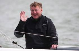 A race win for Dublin Bay's Martin Byrne puts him in seventh overall with one race left to sail today at the Edinburgh Cup in Cowes