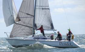Peridot (J.McCann, P.Cadden, Y.Charrier, H. O'Donnell RIYC) was second in DBSC Cruiser 2 IRC