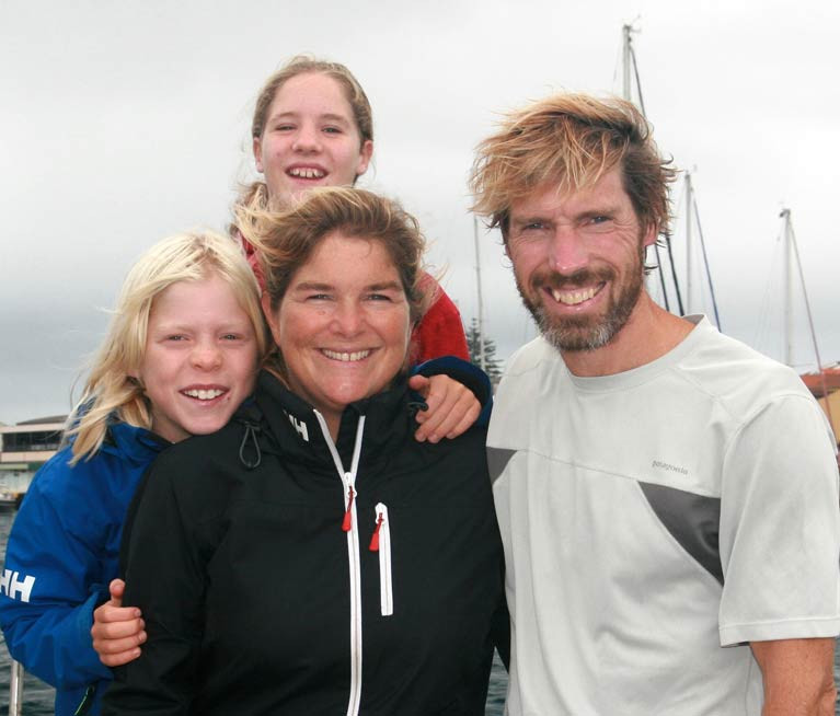 Galway's Transatlantic Sailing Family are Safe Home to Aran Islands