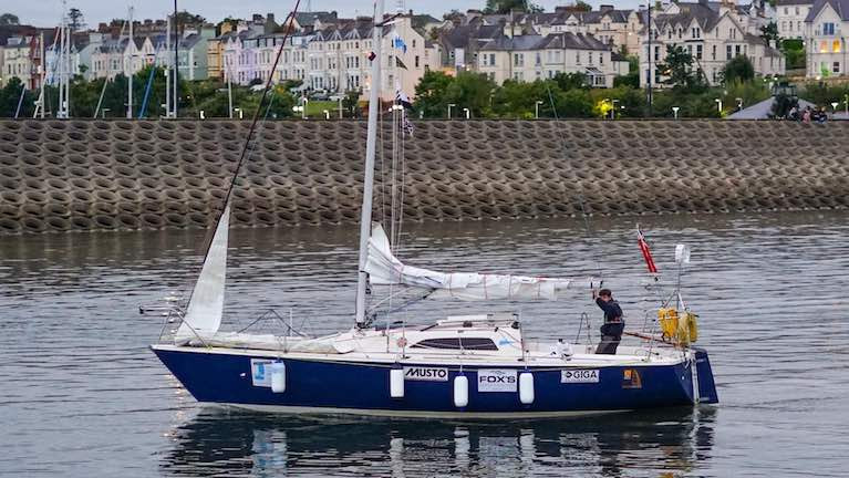 15-Year-Old Solo Round Britain Sailor Arrives in Bangor on Belfast Lough