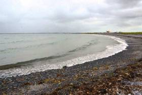 Traught beach at Kinvara, Co Galway