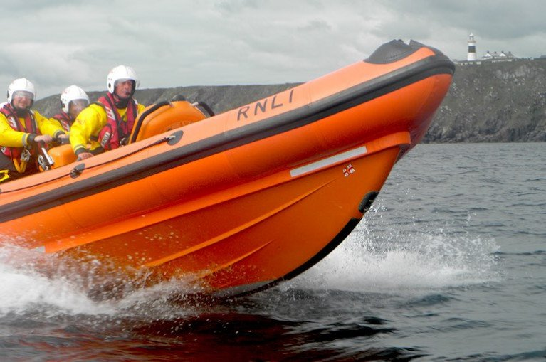 Youghal RNLI in Early Morning Search for Missing Person