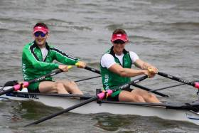 The Ireland men's lightweight double sculls