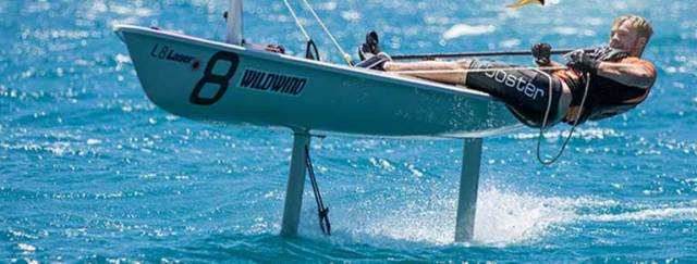 To start foiling there is no need to hang over the side off your tip toes, just being able to hike and keep your weight outboard and horizontal with the deck is ideal