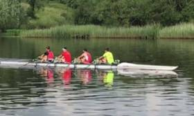 The Enniskillen boys' quadruple train for Henley.