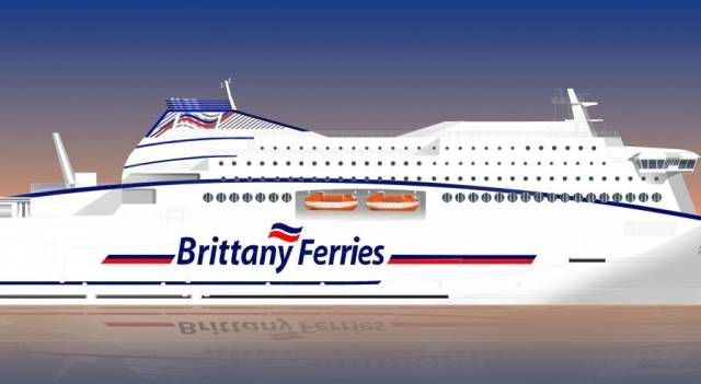 Brittany Ferries Newbuild Prepares Way for LNG Powered Era