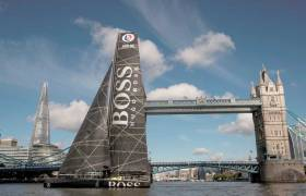 Hugo Boss at Tower Bridge, London
