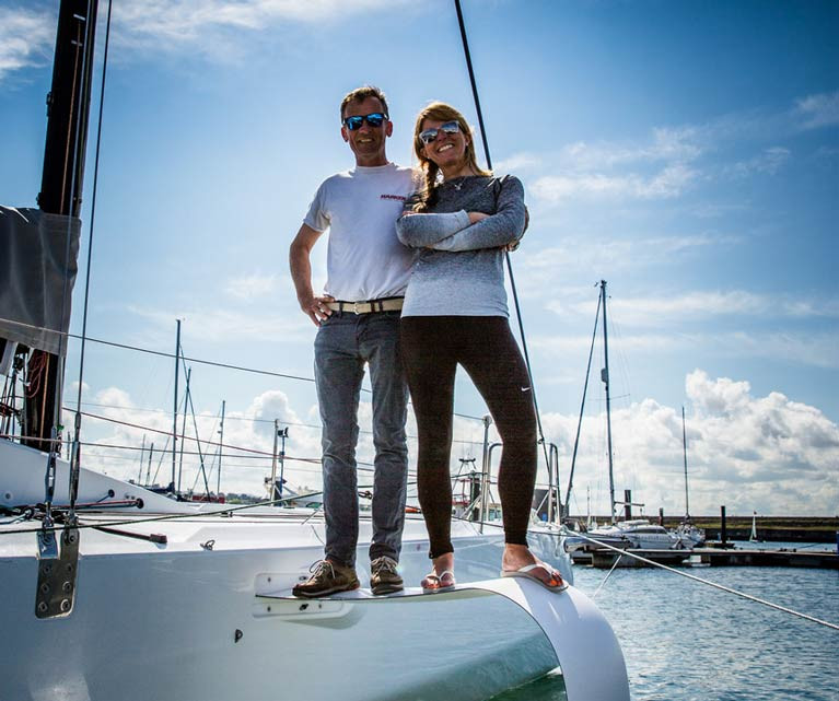 Howth mixed offshore team Conor Fogerty and Susan Glenny will compete in Italy later this month