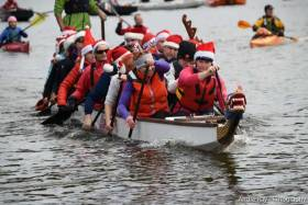 The challenge is being undertaken with the aim of showcasing the River Liffey as one of Dublin's best amenities while raising funds for the RNLI
