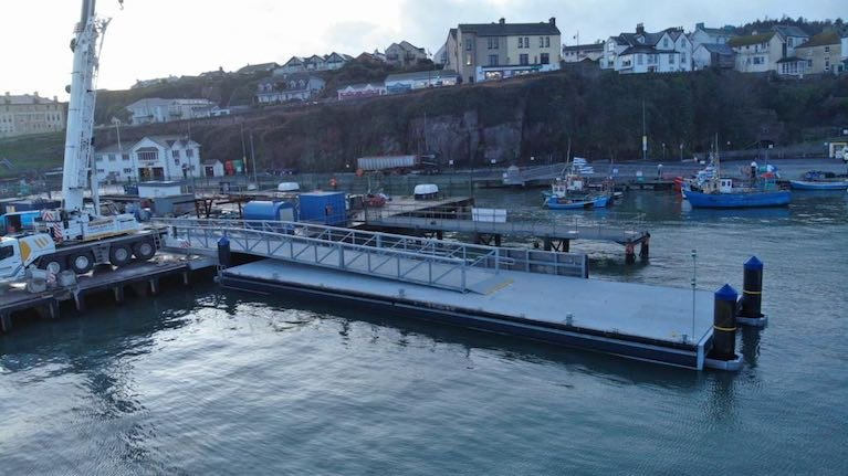 Inland & Coastal Marina Systems Install New Berth for Dunmore East RNLI's All-Weather Lifeboat