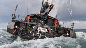 Norbert Sedlacek's global challenge represents approximately 34,000 nautical miles and around 200 days at sea.