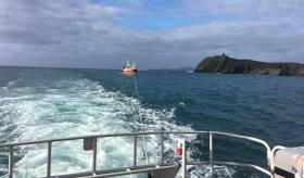 The 19 metre fishing vessel experienced difficulty off the Bull Rock on the Beara peninsula in West Cork