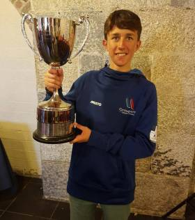Rian Geraghty-McDonnell, Winner of the Irish Optimist National Senior Championship