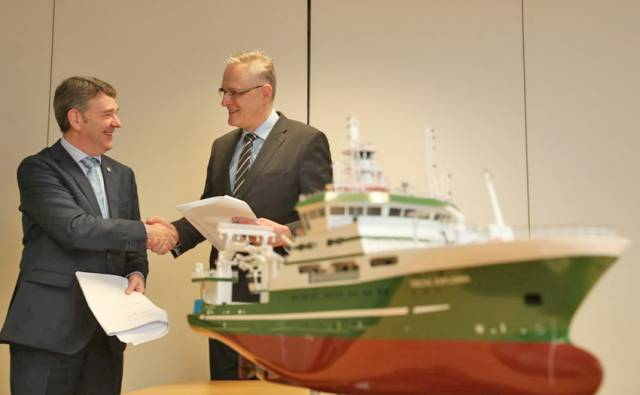 Norwegian Ship Designers On Board For Ireland's New Marine Research Vessel