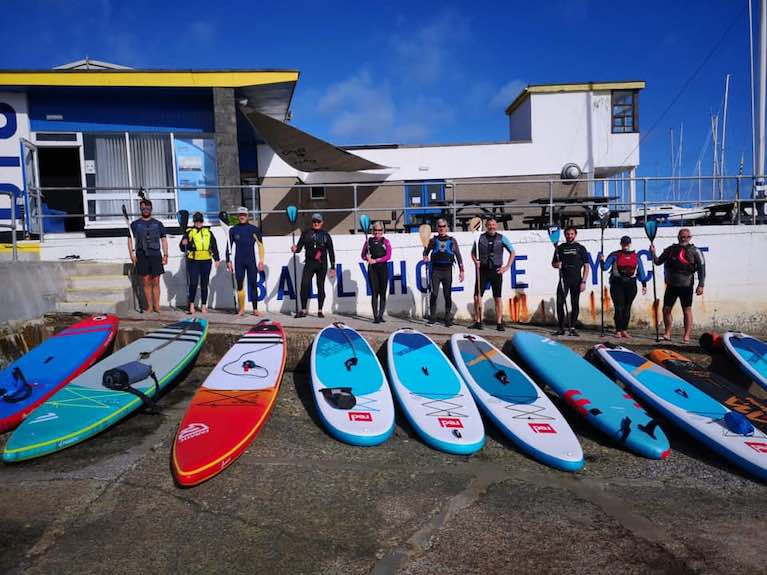 Ballyholme Yacht Club To Deliver First Paddleboarding Association (BSUPA) Instructor Course in Northern Ireland