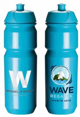 Reusable bottles for Wave Regatta in Howth