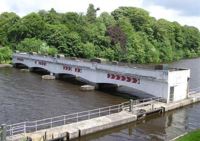 File image of Portora Lock outside Enniskillen