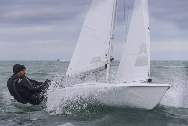 Hayling Island Sailing Club's Richard Lovering and Matt Alvarado