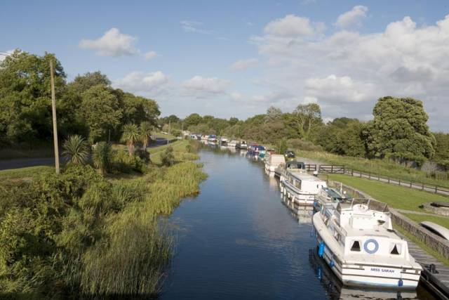 Shannon Harbour in Co Offaly has eight of Ireland's total of 28 houseboat berths
