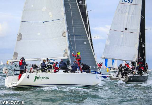 J109 Jalapeno has gone into the overall lead of the DBSC Turkey Shoot with one race left to sail this Sunday