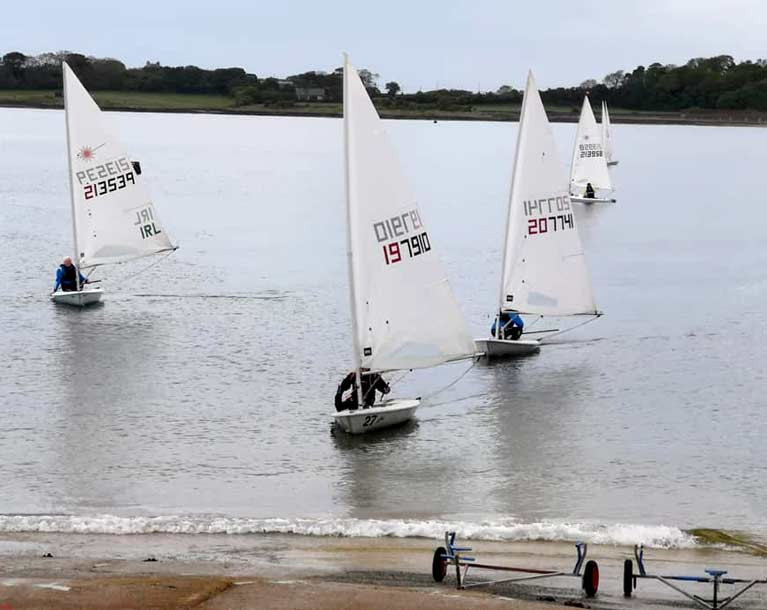 Single-handed sailing during lockdown at Ballyholme Yacht Club