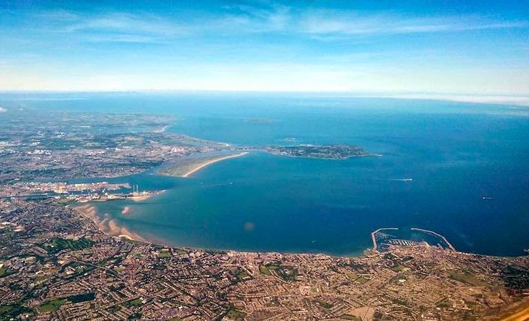Dublin Bay - playground, workspace, living area and complex ecosystem. With Dublin Port to the left and Dun Laoghaire Harbour on right, the sporting challenges of best utilising Dublin Bay's uniquely balanced potential have been successfully met by Dublin Bay Sailing Club