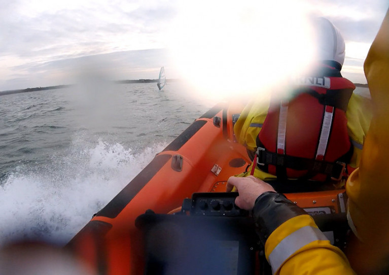 Concern for Windsurfers Prompts Launch for Skerries Lifeboat