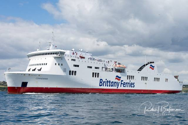Brittany Ferries 'Connemara' is a regular runner from Port of Cork to Santander in Spain