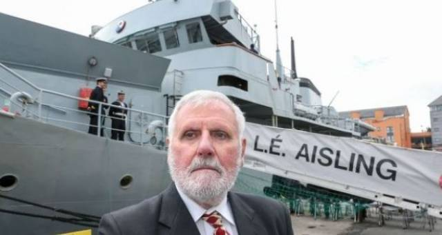 Nicknamed 'the last of the Mohicans', the LÉ Aisling set the bar under its first captain, the 'Sheriff', Lieut Cdr Peadar McElhinney.