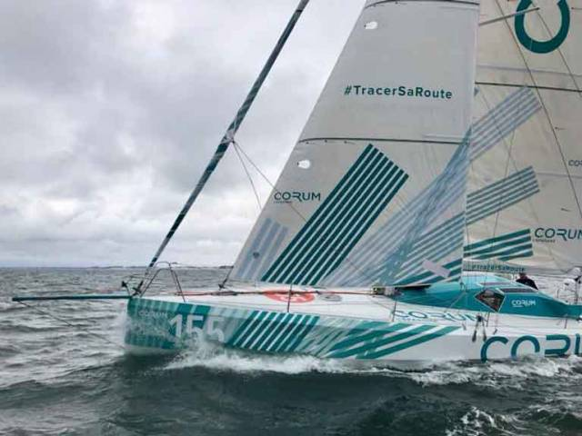 Mini Transat Winner Ian Lipinksi To Contest Round Ireland Race with Nicolas Troussel on Mach 40 'Corum'