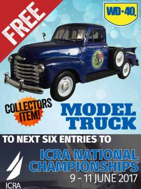 ICRA Sponsor Offers 'Free Model Truck' As Entry Incentive for Royal Cork National Championships