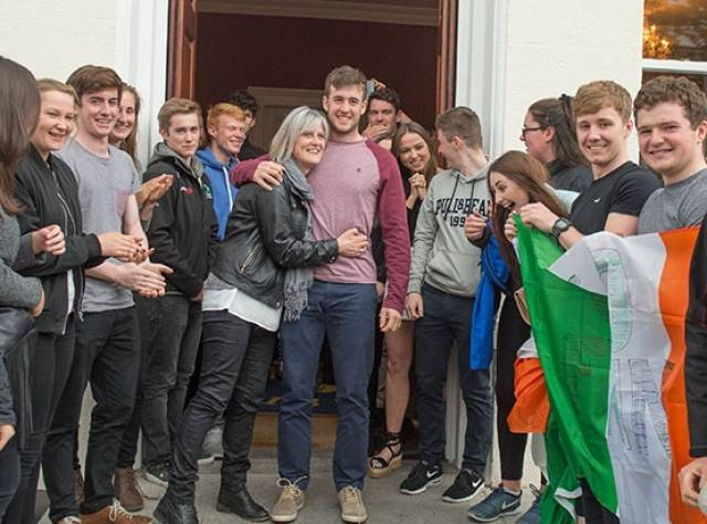 Finn Lynch, Youngest Ever Irish Olympic Helmsman, Saluted by National Yacht Club