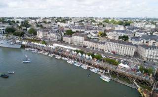 The Figaro fleet in the French port of Nantes this week. The 50th anniversary starts on Sunday and arrives in Kinsale, County Cork on June 6th