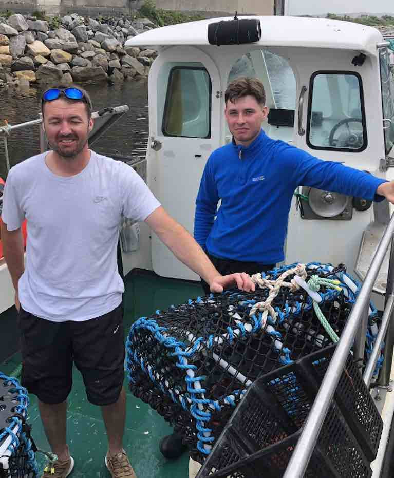 Galway Fishermen Who Located Paddleboarders Record Another Rescue