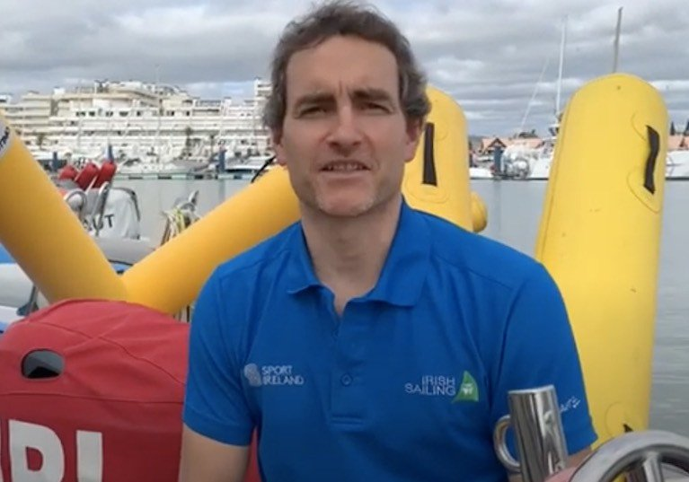 Performance Director for Sailing James O'Callaghan