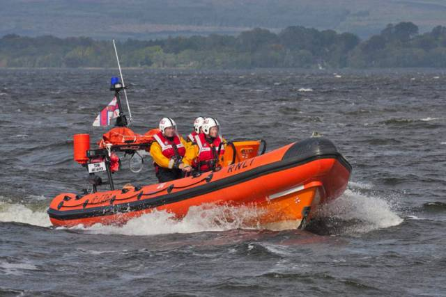 Lough Derg Lifeboat Rescues Skipper Of Stricken Speedboat